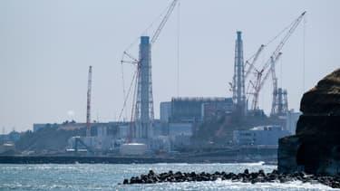 Le site nucléaire Daiichi de Fukushima, au Japon, 10 ans après le tsunami de 2011.