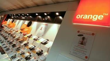Orange menace de suspendre l'accord qui permet à Free d'utiliser son réseau. (Photo : Orange)