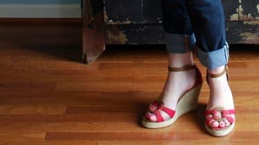La jeune femme a mis quatre jours a récupéré l'usage de ses jambes.
