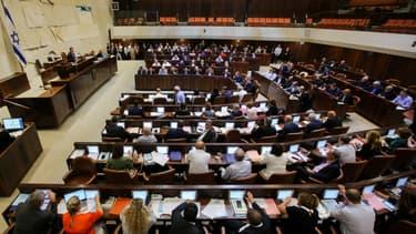 Les députés israéliens à la Knesset, le 19 juillet 2018.