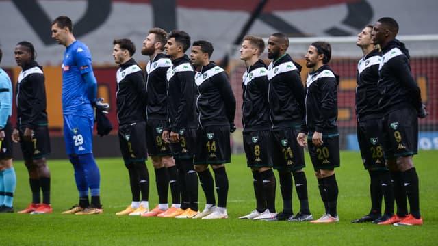 Des joueurs de Denizlispor (le 20 janvier 2021).