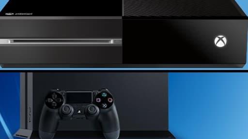 La guerre des consoles est à nouveau déclarée, entre la Xbox One de Microsoft et la PS4 de Sony.