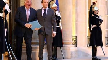 Gérard Larcher a fait des propositions à Emmanuel Macron.