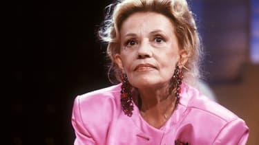 Jeanne Moreau en 1987