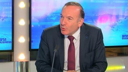 """Pierre Gattaz, le président du Medef, a jugé que le gouvernement français était """"débordé""""."""