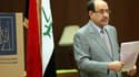 Le premier ministre irakien Nouri al-Maliki, le 30 avril 2014, à Bagdad.