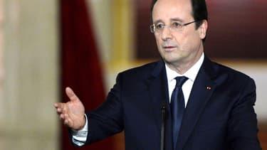François Hollande, mardi, lors de sa troisième grande conférence de presse.