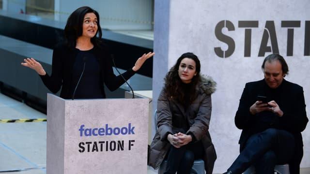 Sheryl Sandberg a annoncé que le tout premier programme d'accompagnement de start-up de Facebook serait installé à Paris.