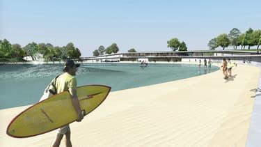 Un lac avec des vagues artificielles devrait voir le jour près de Paris à partir de 2019.