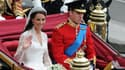 Kate et William le jour de leur mariage, le 29 avril 2011.