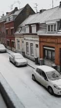 Nord : neige à Wattrelos - Témoins BFMTV