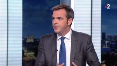 Olivier Véran au Journal Télévisé de France 2, le 22 juillet 2020.