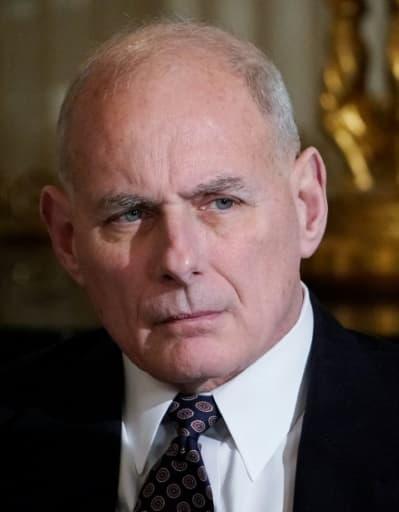 John Kelly photographié à la Maison Blanche le 12 février 2018