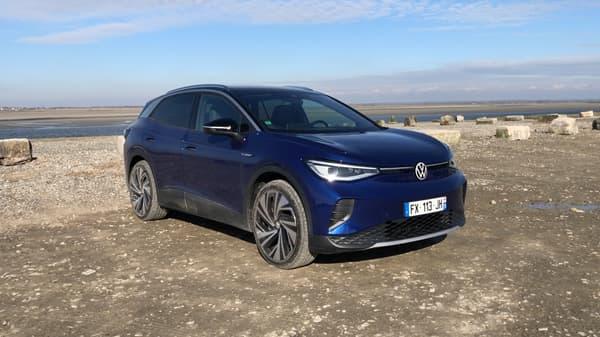 L'ID.4 permet à Volkswagen de proposer son premier SUV 100% électrique.