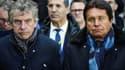 Une perquisition au siège du FC Nantes a eu lieu dans l'enquête pour fraude fiscale visant Waldemar Kita (à droite)