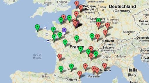 Dix-huit villes de plus de 100.000 habitants ont déjà annoncé qu'elles appliqueront la réforme dès 2013, vingt-deux le feront à la rentrée 2014.