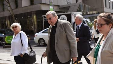 George Pell. - WILLIAM WEST / AFP