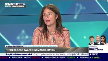 Tech for Good Awards: Nomad Education propose de la révision gratuite sur mobile et hors-connexion - 26/05