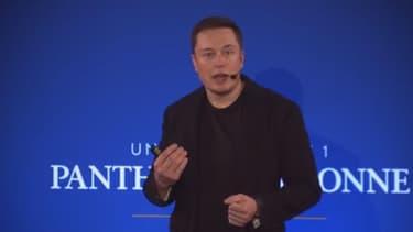 Elon Musk a développé une démonstration implacable devant les étudiants de La Sorbone.