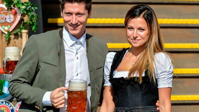 Robert et Anna Lewandowski