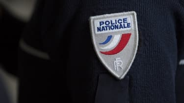 Un écusson de la police nationale. (photo d'illustration)