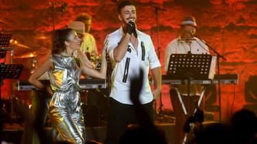 Saad Lamjarred en concert au Festival International de Carthage en 2016