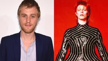 L'acteur  Johnny Flynn / David Bowie en 1973