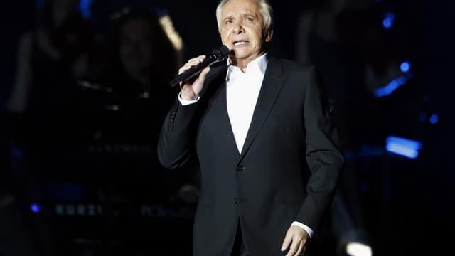 Michel Sardou, le 12 décembre 2012