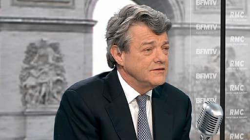 Le président de l'Union des démocrates et indépendants Jean-Louis Borloo invité de BFMTV/RMC mardi 19 mars 2013