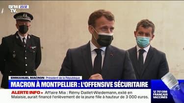 La sécurité au cœur de la visite d'Emmanuel Macron à Montpellier