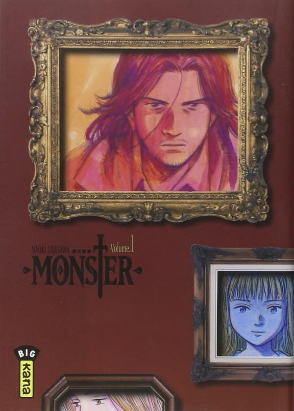 Couverture de Monster d'Urasawa