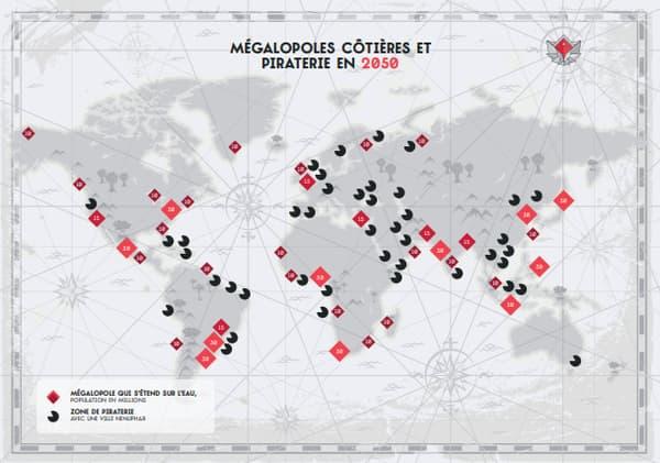 La piraterie côtière mondialisée en 2050, vue par la Red Team Defense