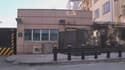 L'ambassade américaine à Ankara, en Turquie, où l'attentat suicide a eu lieu vendredi.