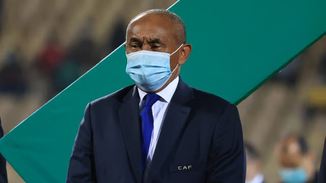 Ahmad Ahmad, l'actuel président de la CAF