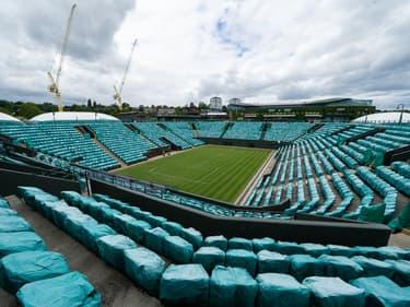 Le stade de Wimbledon se prépare pour l'édition 2021