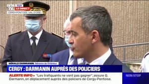 """Gérald Darmanin: """"À Fréjus, s'il y a ces difficultés, c'est parce qu'il y a une guerre contre l'islamisme radical et les trafics de stupéfiants"""""""