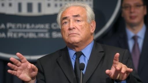 Dominique Strauss-Kahn.