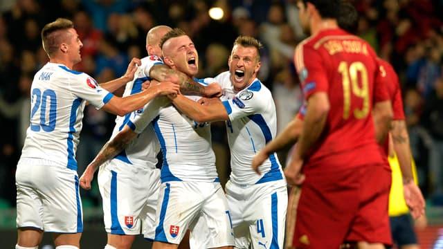 Slovaquie-Espagne