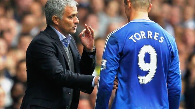 José Mourinho et Fernando Torres