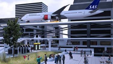 Des avions tractés sur des pistes automatisées, le projet préfigure-t-il l'aéroport de demain?
