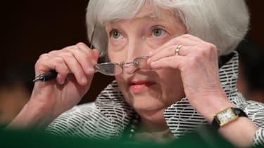 Janet Yellen, présidente de la Réserve fédérale (Fed)