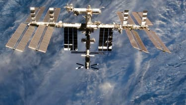 La Station spatiale internationale.