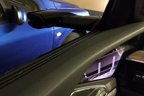 Les rétroviseurs-caméras de l'Audi E-tron.