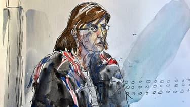 Patricia Dagorn le 16 janvier 2018 à son procès.