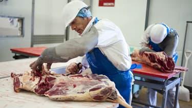 Une usine de viande dans l'ouest de la France (photo d'illustration).