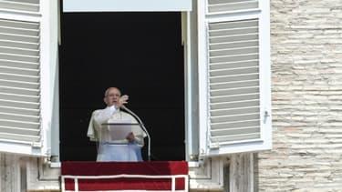 Le pape François, le 2 juillet 2017  au Vatican