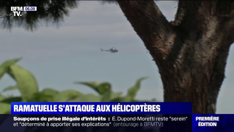 Ramatuelle s'attaque aux nuisances sonores provoquées par les hélicoptères de riches vacanciers