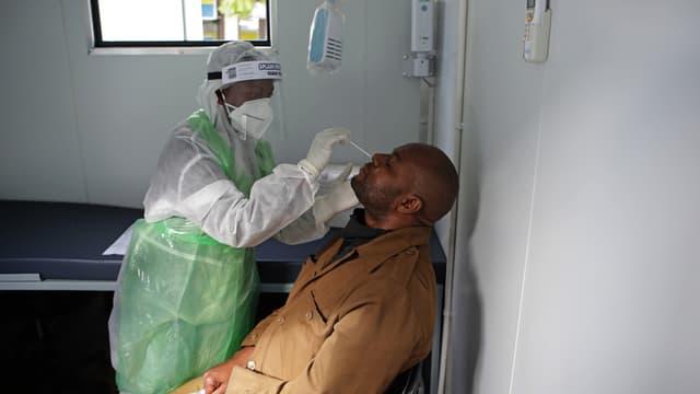 Dépistage du coronavirus le 11 juin 2020 à Pretoria