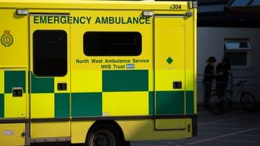 Une ambulance britannique. (Photo d'illustration)