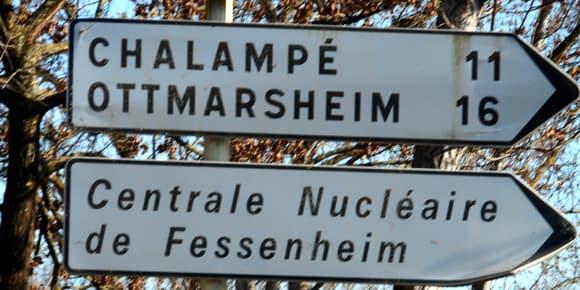 Ici à Fessenheim, tout le monde dépend de la centrale.